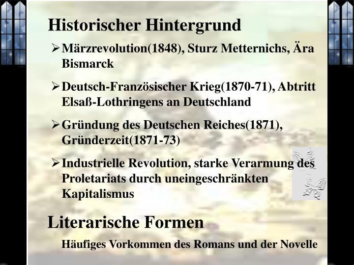 Historischer Hintergrund
