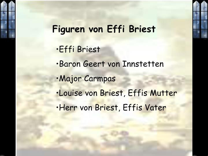 Figuren von Effi Briest
