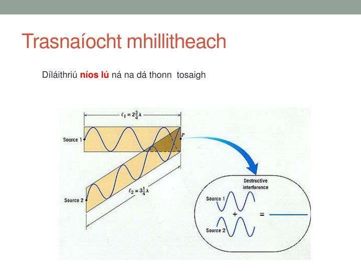 Trasnaíocht mhillitheach