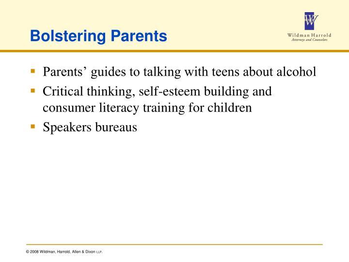 Bolstering Parents