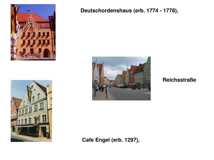 Deutschordenshaus (erb. 1774 - 1778),