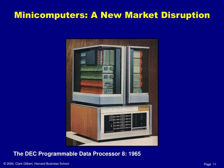 The DEC Programmable Data Processor 8: 1965