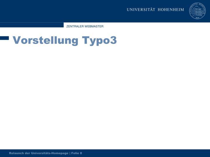 Vorstellung Typo3