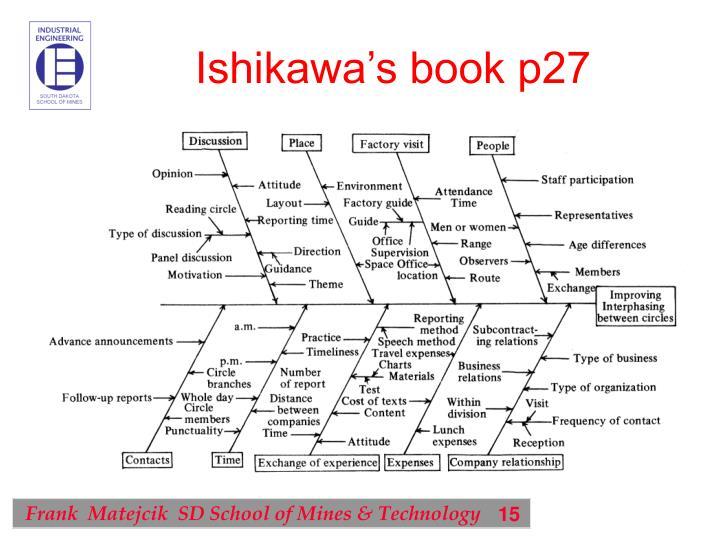 Ishikawa's book p27