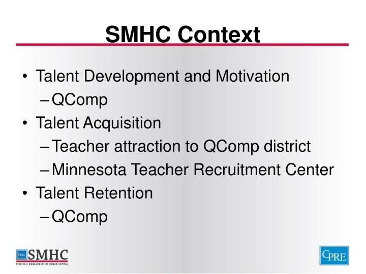SMHC Context