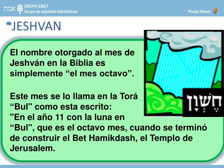 JESHVAN