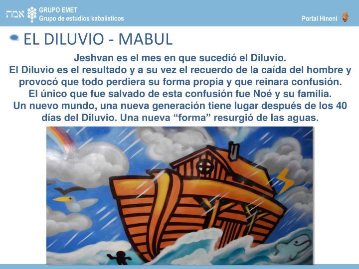 EL DILUVIO -