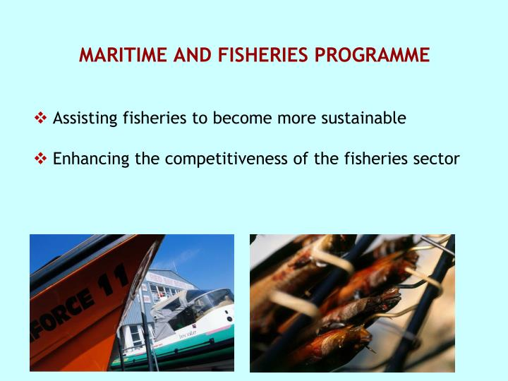 MARITIME AND FISHERIES PROGRAMME