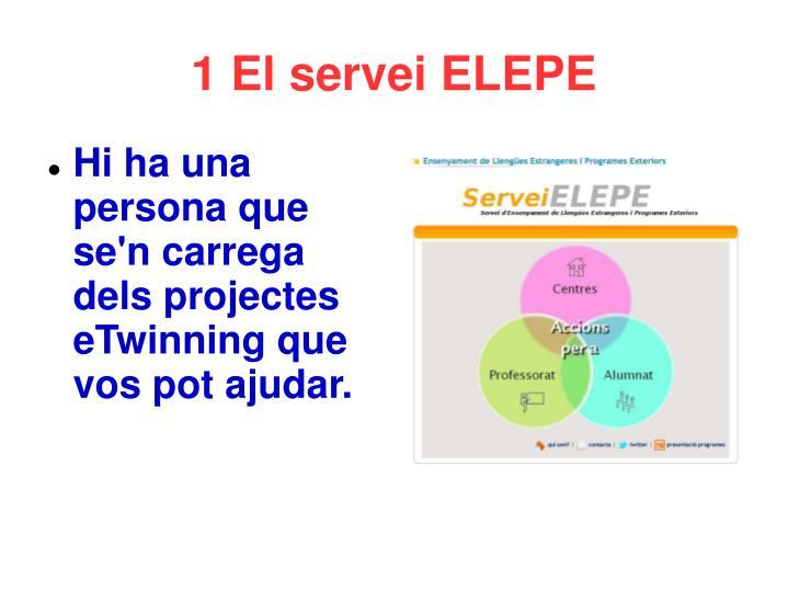 1 El servei ELEPE