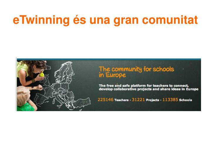 eTwinning és una gran comunitat