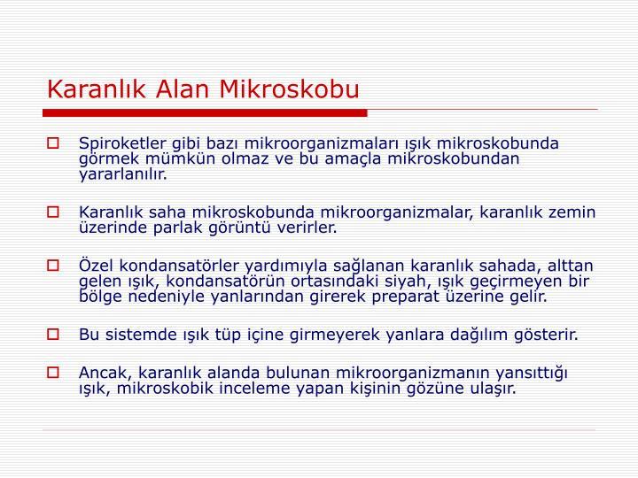 Karanlık Alan Mikroskobu