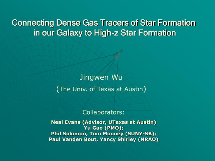 Connecting Dense Gas Tracers of Star Formation