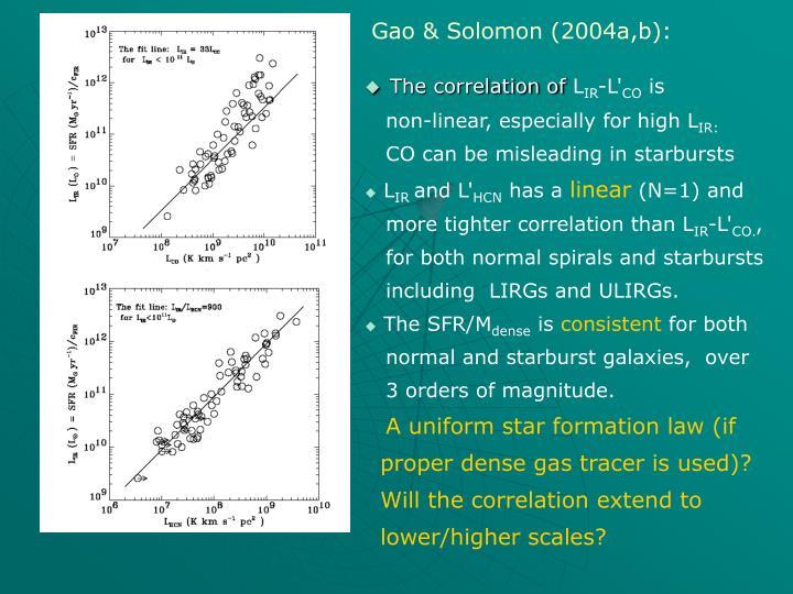 Gao & Solomon (2004a,b):