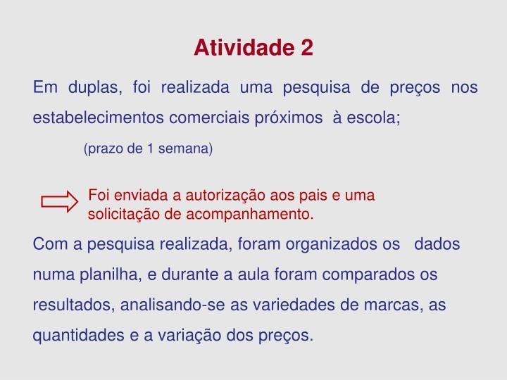 Atividade 2