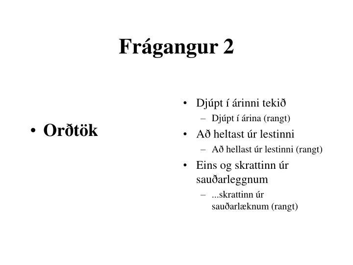Orðtök