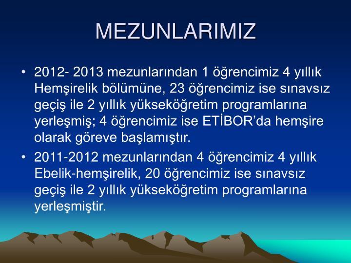 MEZUNLARIMIZ