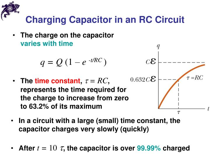 Charging Capacitor in an RC Circuit