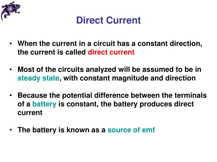 Direct current