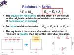 resistors in series1