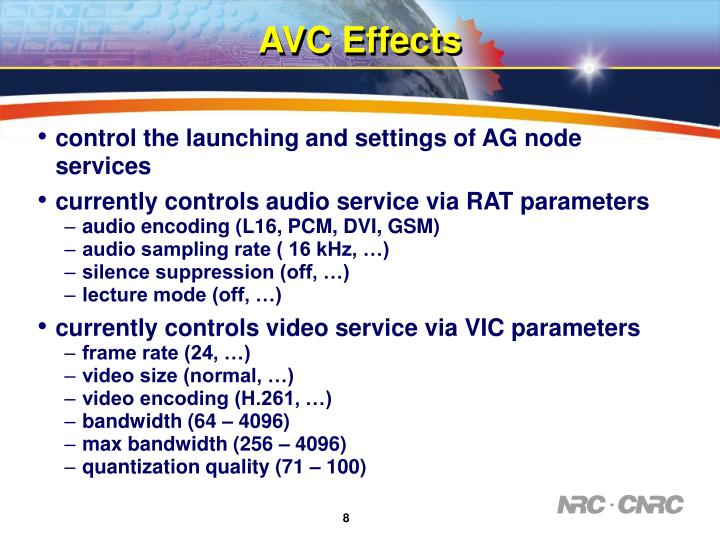 AVC Effects