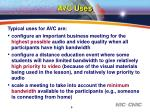 avc uses