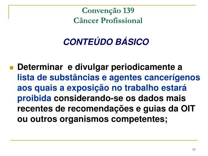 Convenção 139
