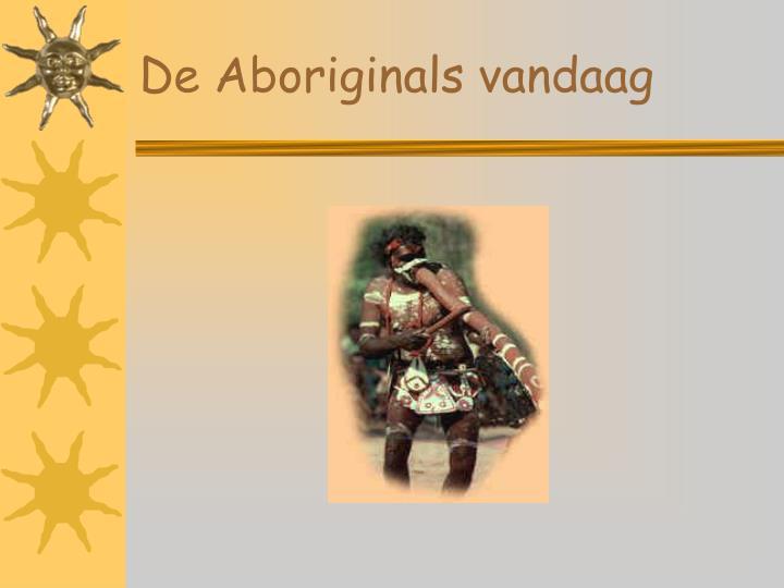 De Aboriginals vandaag