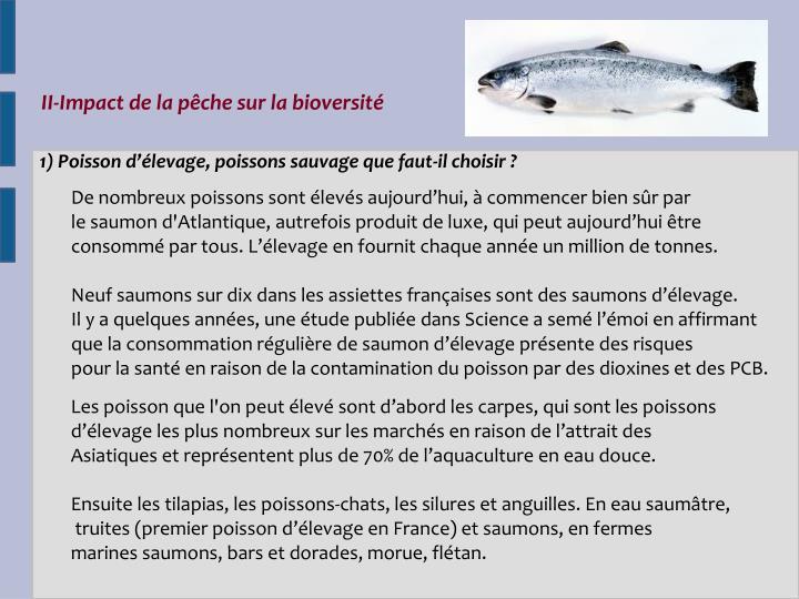 II-Impact de la pêche sur la bioversité