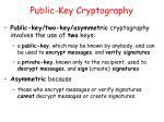 public key cryptography1