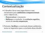 contextualiza o2