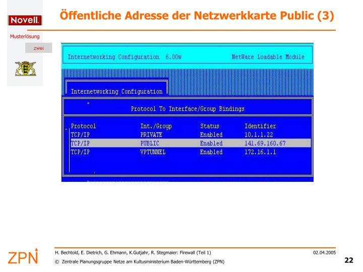 Öffentliche Adresse der Netzwerkkarte Public (3)