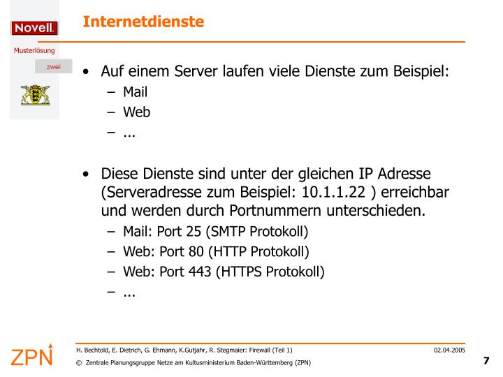 Internetdienste