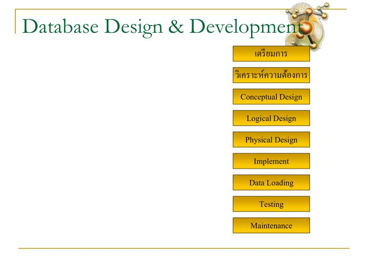 Database Design & Development