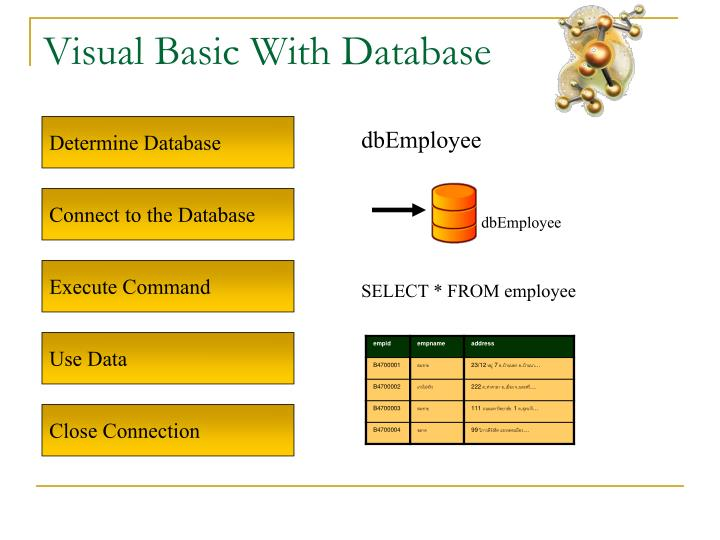 Visual Basic With Database