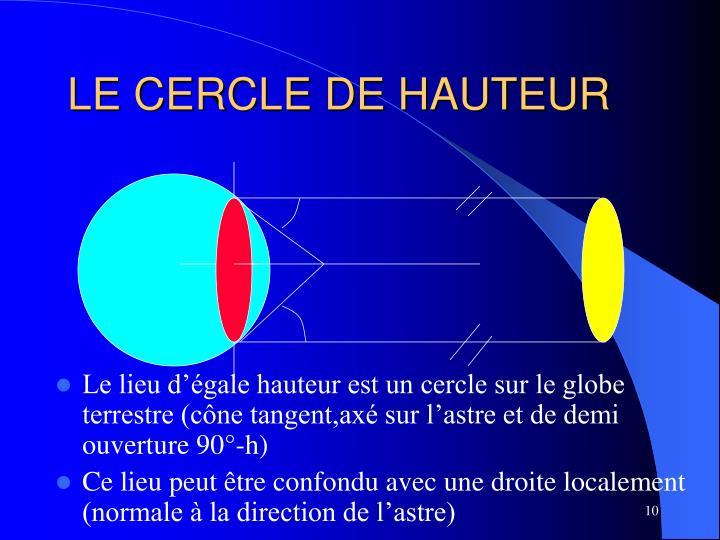 Ppt navigation astronomique la droite de hauteur powerpoint presentation - Definition de hauteur ...