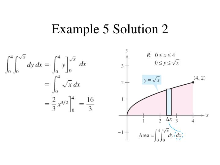 Example 5 solution 2