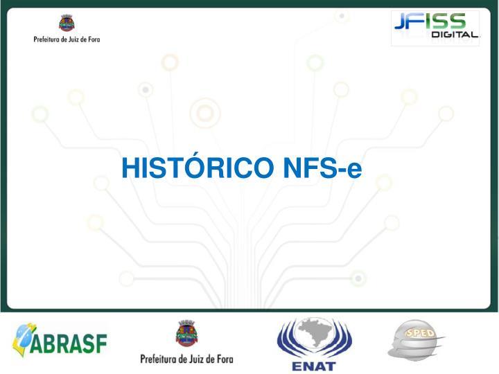 HISTÓRICO NFS-e