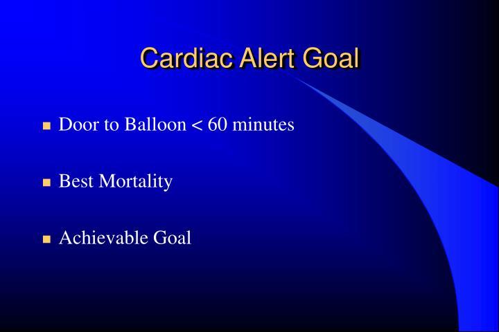 Cardiac Alert Goal