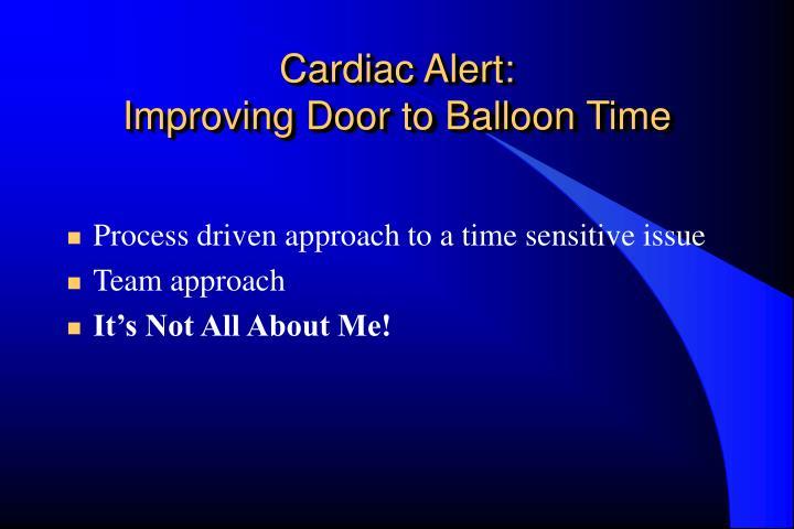 Cardiac Alert: