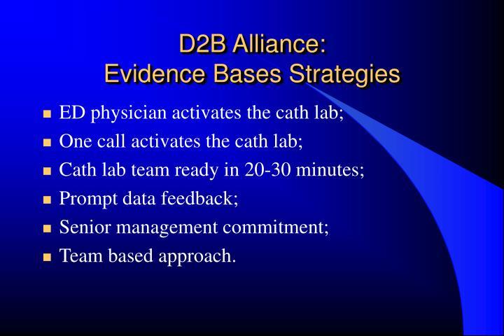 D2B Alliance: