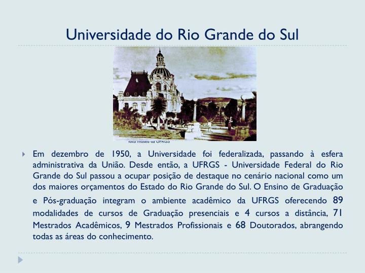 Universidade do Rio Grande do Sul