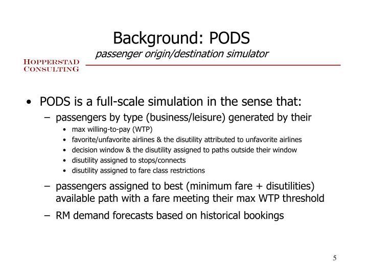 Background: PODS