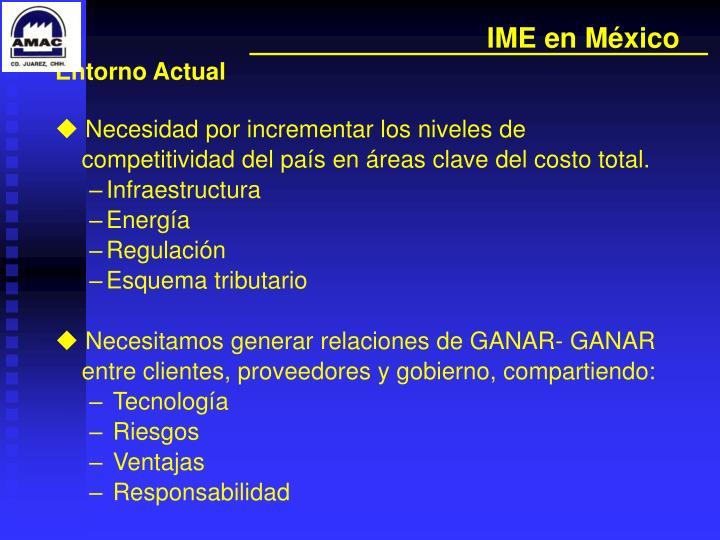 IME en México