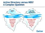 active directory versus nds a complex question