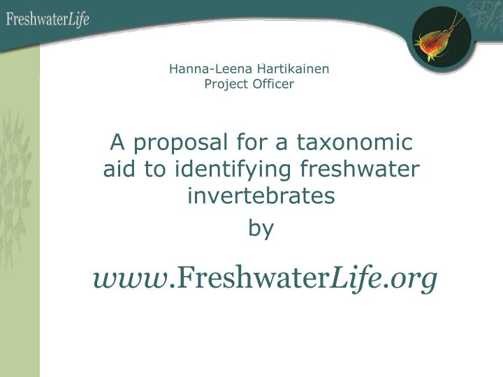 Www freshwater life org