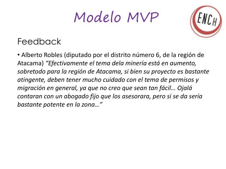 Modelo MVP