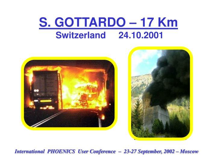 S. GOTTARDO – 17 Km