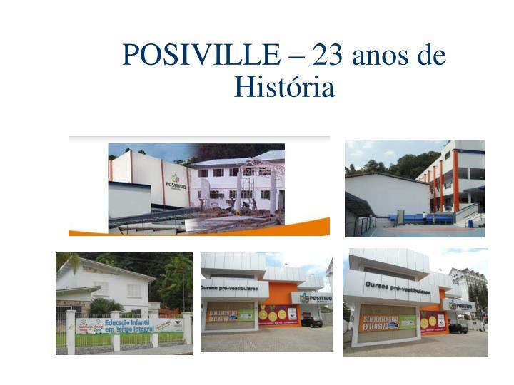 POSIVILLE – 23 anos de História