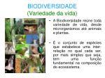biodiversidade variedade da vida