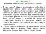 meio ambiente para entender o aquecimento global1